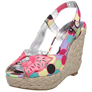 Lovely People Women's Scorpio Wedge Sandal