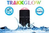 TRAKK-Glow-New-Model-App-Enabled-LED-Bluetooth-40-Speaker-360-Degree-20W-Weatherproof-30-Feet-Long-Distance-Connectivity-Auto-Sleep-10-Hours-of-PlayWork-Time-Includes-USB-Power-Bank-4600mAh