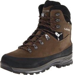 Lowa Men's Tibet GTX Trekking Boot,Sepia/Black,11.5 M US