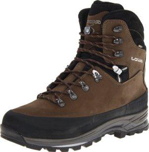 Lowa Men's Tibet GTX Trekking Boot,Sepia/Black,10 M US