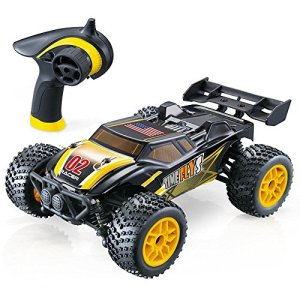 GPTOYS-S607-All-Terrain-Remote-Control-Car-Splash-Resistant-Fast-4-X-4-Off-Road-Electric-RC-Truggy-Hobby-Grade-124-Scale-Best-Gift-for-Boys-Girls-and-Even-Adults