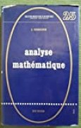 J. Garsoux. Analyse mathématique