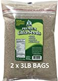 Marquis-Nutra Foods / Get Chia Brand WHITE Chia Seeds - 6 TOTAL POUNDS = TWO x 3 Pound Bags