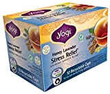 Yogi Tea EcoCup, Honey Lavender Stress Relief, 10 Count (Pack of 6)