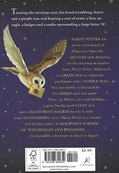 Livres Couvertures de Harry Potter and the Philosopher's Stone