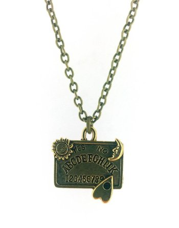 Beautifully Detailed Ouija Board Necklace G Unique And Quirky Gift Ideas Any Odd Person Will Appreciate (Fun Gifts!)