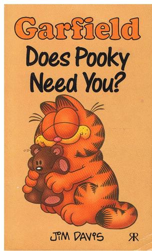 Garfield, Does Pooky Need You? (Garfield Pocket Books) by Jim Davis