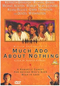 "Cover of ""Much Ado About Nothing (1993) (..."