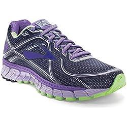 Brooks Women's Adrenaline Gts 16 Passionflower/Lavender/Paradis Running Shoe 7.5 Women US