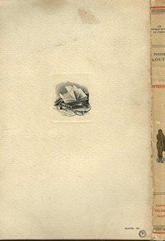 Livres Couvertures de Aphrodite, moeurs antiques avec des illustrations d'edouard zier, dans le texte et en hors texte relié