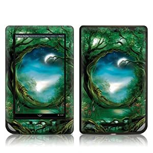 Moon Tree Design Protective Decal Skin Sticker for Barnes and Noble NOOK COLOR E-Book Reader