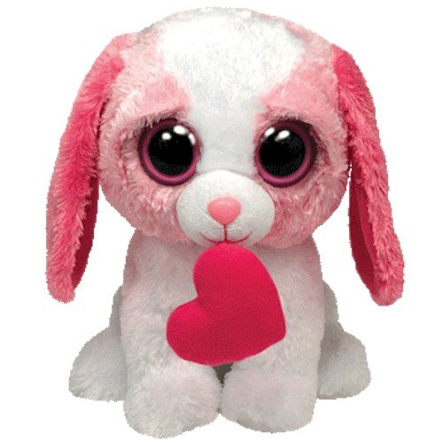 ty beanie boos buddy cookie the dog with heart i m cookie a sweet dog