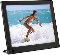 Latest Model - NIX 12 inch Hi-Res Digital Photo Frame with Motion Sensor & 4GB Memory - X12C