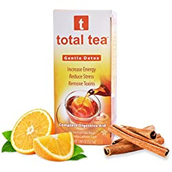 Gentle Detox Tea. Reduce Bloating Constipation and Weight Loss Tea. 25 Day Supply. Foil Wrapped for Freshness. Doctor Recommended Colon Cleanse Tea. 10 Natural Herbs. 100% Happy Dieter Tea Guarantee