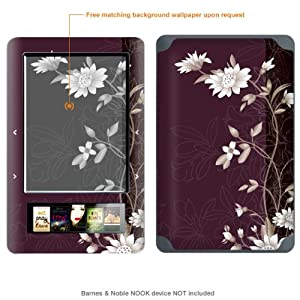 Protective Decal Skin Sticker for Barnes & Noble Nook case cover NOOK-464