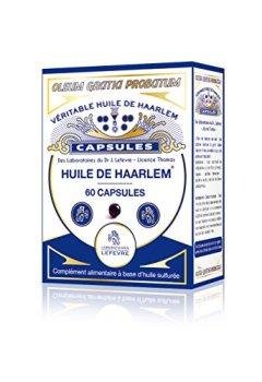 Livres Couvertures de Véritable Huile de Haarlem, 60 capsules originales