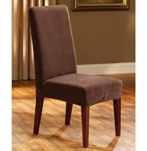 Sure Fit Stretch Pique Shorty Dining Room