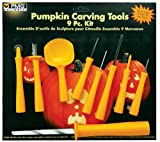 Paper Magic Group Pumpkin Carving Tool Kit, 9 Pieces