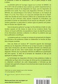 Livres Couvertures de Manuel de diagnostics infirmiers: 14º édition