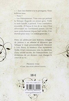 Livres Couvertures de Les Outrepasseurs - tome 1 Les Héritiers (1)
