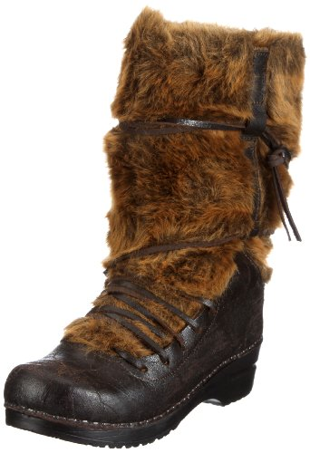 Sanita Wixen Boot 456701-3, Damen Stiefel, Braun (brown 3), EU 37
