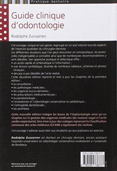 Livres Couvertures de Guide clinique d'odontologie