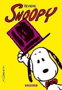 Livres Couvertures de Snoopy, Tome 1 : Reviens Snoopy