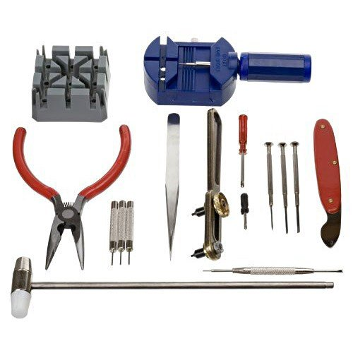 51loKlCxljL - BEST BUY #1 New 16PC Watch Repair Tools Kit