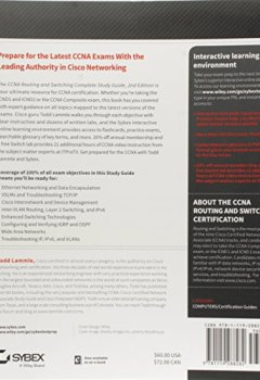Livres Couvertures de CCNA Routing and Switching Complete: Exam 100-105, Exam 200-105, Exam 200-125