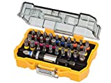 51lxuRvXsPL. SL160  - BEST BUY #1 DeWalt 32 Piece XR Professional Magnetic Screwdriver Bit Accessory Set
