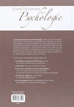 Livres Couvertures de Grand Dictionnaire de la Psychologie