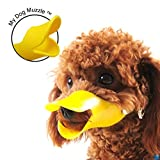 ★ Best Seller ★ My Dog Muzzle™ Size L ✔ Protect Children From Biting Pets ✔ Stops or Reduces Barking and Biting ✔ Duck Muzzle for Dog ✔ Safe and Soft Rubber Material ✔ Adjustable Head Strap - 612