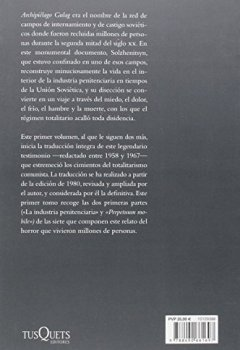 Portada del libro deArchipiélago Gulag I (Tiempo de Memoria)
