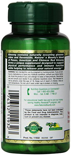 Image Result For Natures Bounty Ginseng Complex Plus Royal Jelly