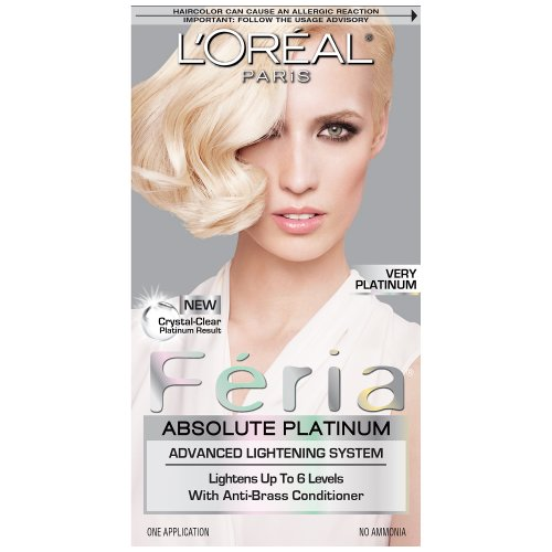 Loreal Platinum Blonde Hair Color