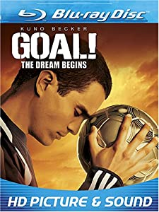 """Cover of """"Goal! The Dream Begins [Blu-ray..."""