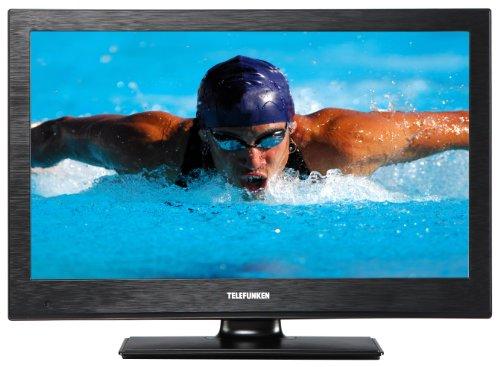 Telefunken T24K970 61 cm (24 Zoll) LED-Backlight-Fernseher (Full HD, DVB-C/T/S2, CI+, 2x HDMI, USB 2.0) schwarz