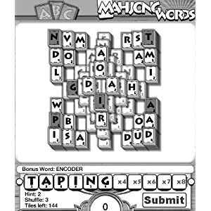 Mahjong Words (Word Game Meets Mahjong on Kindle) by Mobigloo