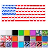 HDE Silicone Rubber Keyboard Skin for Macbook & Macbook Pro (American Flag)