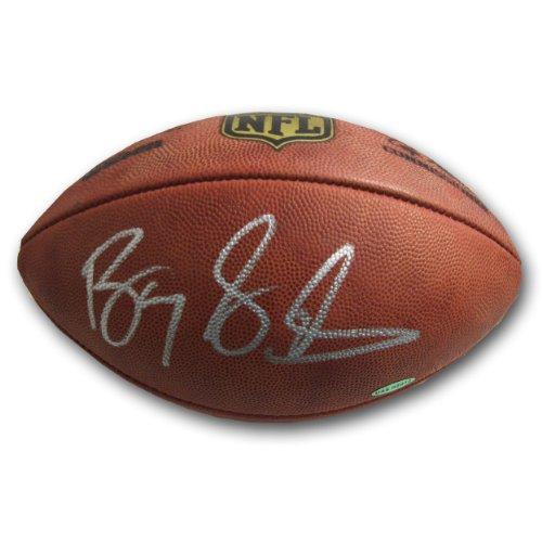 Autographed Barry Sanders Official NFL Football (UDA)