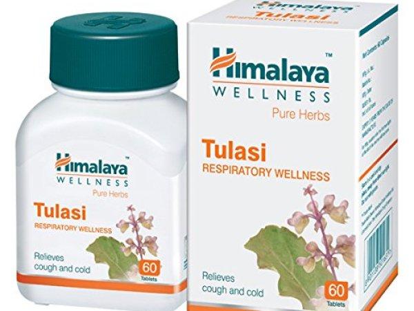 Himalaya Wellness Pure Herbs Tulasi Respiratory Wellness 60 Tablets 250 mg