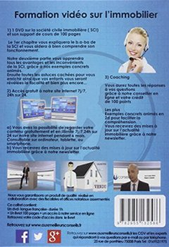 Livres Couvertures de SCI conseil Achat Immobilier LIVRE + 1 DVD de FORMATION Les clés pour s'enrichir sans payer d'impôts.
