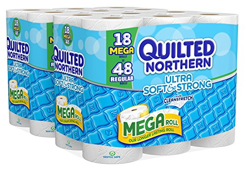 Quilted Northern Ultra Soft And Strong Bath Tissue 36 Mega