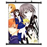 "Fruits Basket Anime Fabric Wall Scroll Poster (16"" x 22"") Inches. [WP]-Fruits Basket-67"