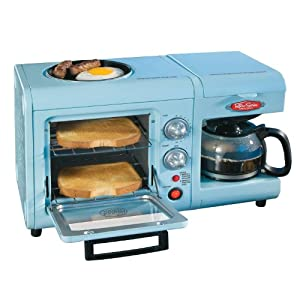when i saw this uber adorable super retro styled 3 in 1 breakfast station my heart simultaneously leapt with joy and sank with bitter grumbles  the retro 3 in 1 breakfast station and the joy pain of single use      rh   offbeathome com