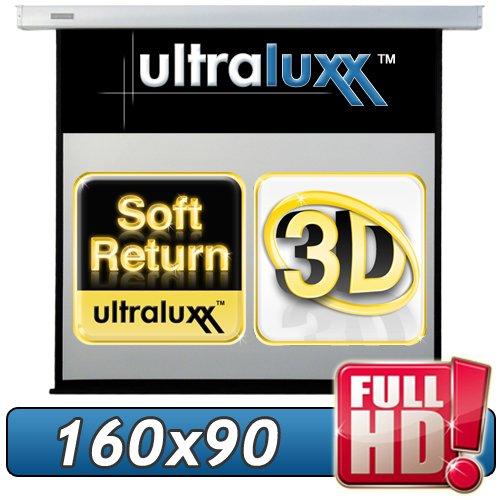 183 cm (160x90 sichtbar) ULTRALUXX © RM Automatik Rolloleinwand - 16:9 LUXUS PROFI ROLLO LEINWAND - Neuware DIREKT vom Hersteller