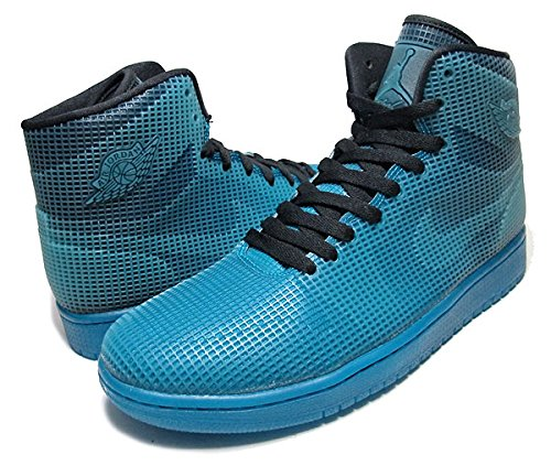 Nike Air Jordan 4LAB1 'Tropical Teal' - 677690-020 - Black & Tropical Teal (9)