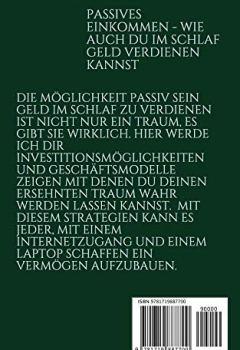 Cover von PASSIVES EINKOMMEN; WIE AUCH DU IM SCHLAF GELD VERDIENEN KANNST