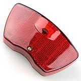 Fahrrad Rücklicht LED Reflektor rot Fahrradleuchte Beleuchtung