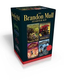 The Brandon Mull Starter Kit: Fablehaven; A World Without Heroes; The Candy Shop War; Sky Raiders by Brandon Mull| wearewordnerds.com